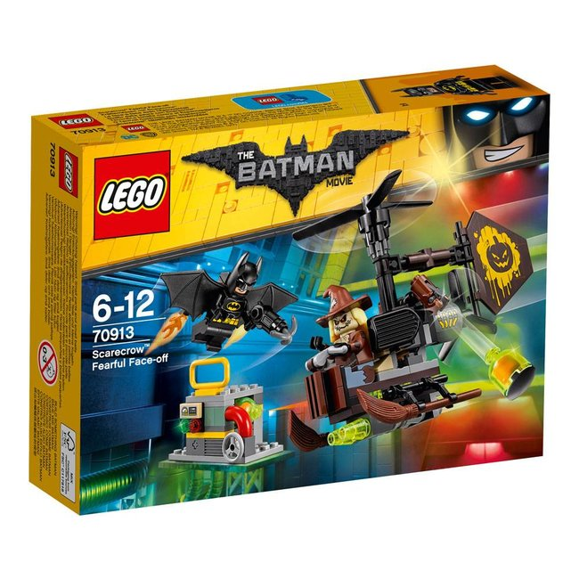 LEGO LEGO Batman Movie Scarecrow Fearful Face-off