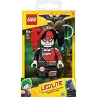 Lego Batman Movie Mini-Flashlight with Keychains Harley Quinn