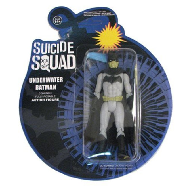 Suicide Squad Action Figure Underwater Batman 12 cm
