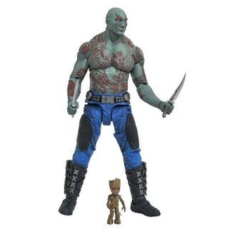 Diamond Select Toys Guardians of the Galaxy Volume 2 Marvel Select Action Figure Drax & Baby Groot
