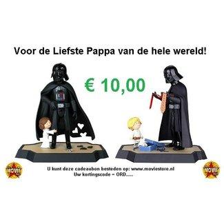 The Movie Store Cadeaubon voor je Vader € 10,00