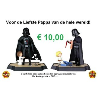 The Movie Store Gift card for your Father € 10.00