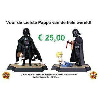 The Movie Store Cadeaubon voor je Vader € 25,00