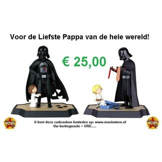 The Movie Store Vater Geschenkgutschein € 25,00