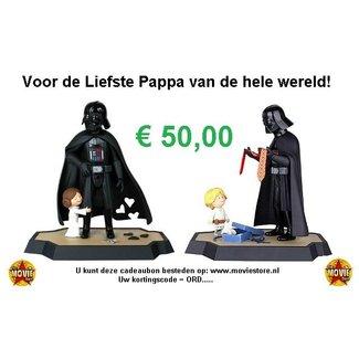 The Movie Store Cadeaubon voor je Vader € 50,00