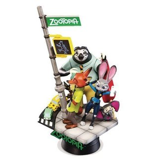 Beast Kingdom Disney Select: Zootopia Diorama