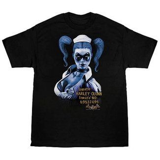Arkham Asylum Harley Quinn T-Shirt