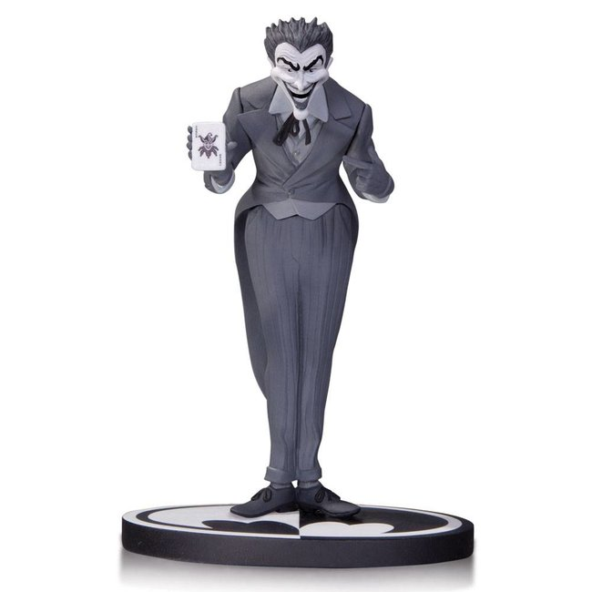 DC Collectibles Black & White Statue The Joker by Dick Sprang