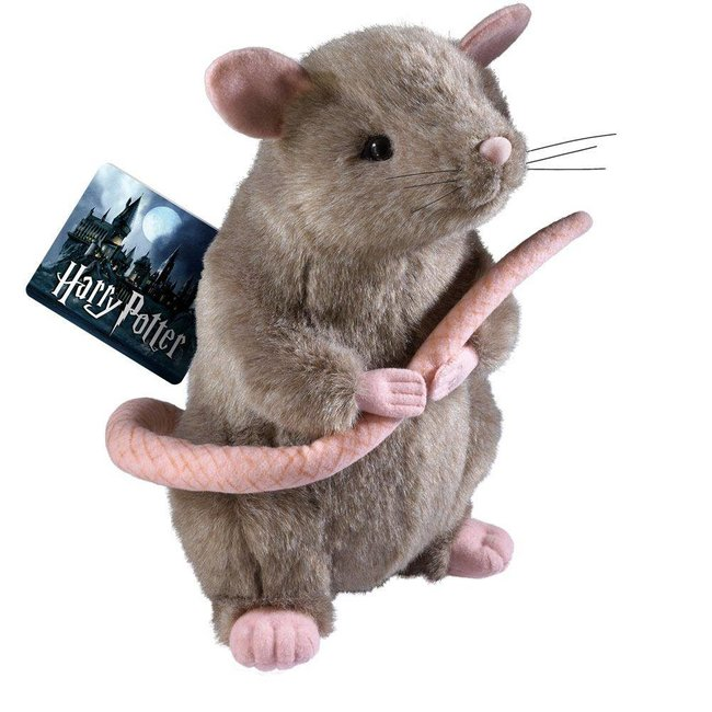 Noble Collection Harry Potter Plush Figure Scabbers 23 cm