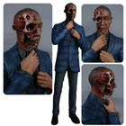 Breaking Bad Action Figure Gus Fring Burned Face EE Exclusive