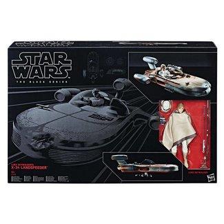 Hasbro Star Wars Black Series 6-inch Vehicle 2017 Luke Skywalker's X-34 Landspeeder