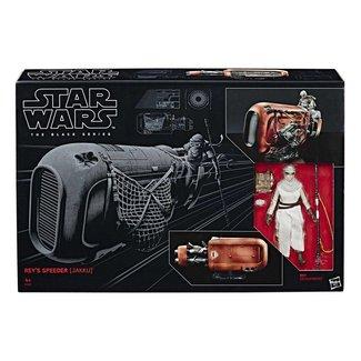 Hasbro Star Wars Black Series 6-inch Vehicle 2017 Rey's Speeder (Jakku)