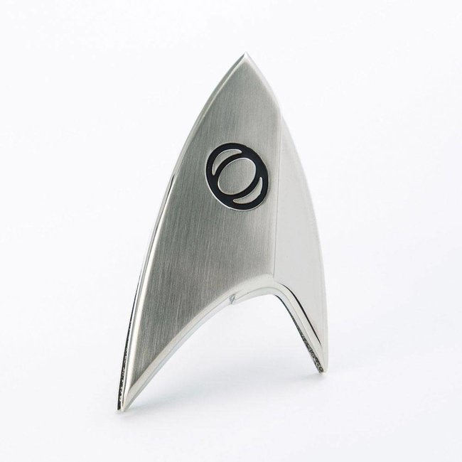 Quantum Mechanix Star Trek Discovery Replica 1/1 Magnetic Starfleet Science Division Badge