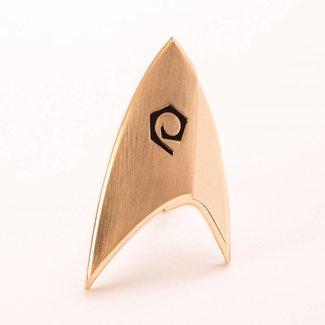 Quantum Mechanix Star Trek Discovery Replica 1/1 Magnetic Starfleet Operations Division Badge