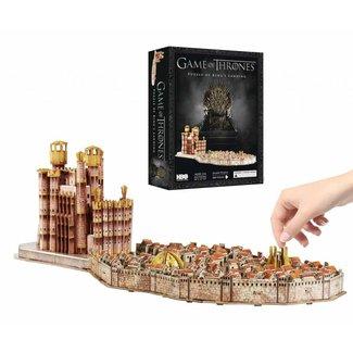 Game of Thrones 3D Puzzle Königs Landing (260 Stück)