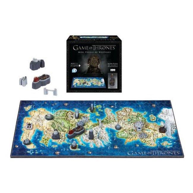 Game of Thrones 3D Puzzle Mini Westeros (350 Stück)