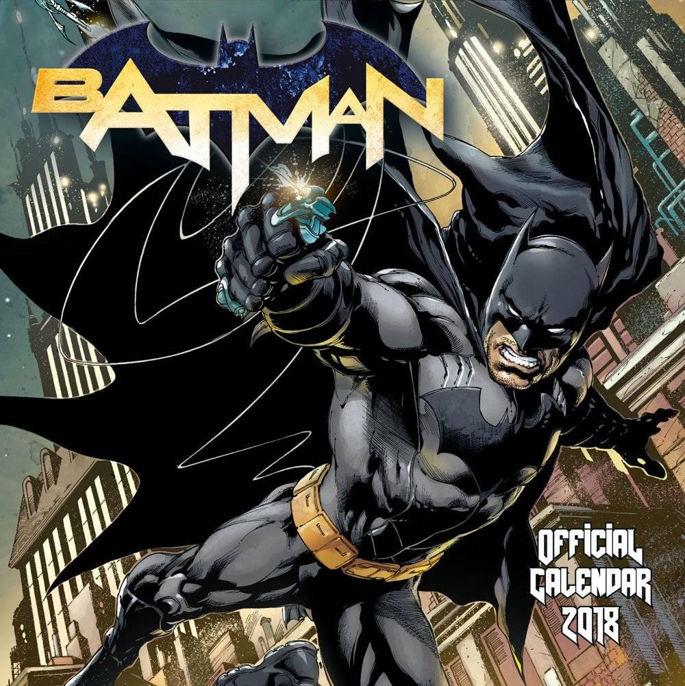 Batman Comics Kalender 2018 Deutsche Version