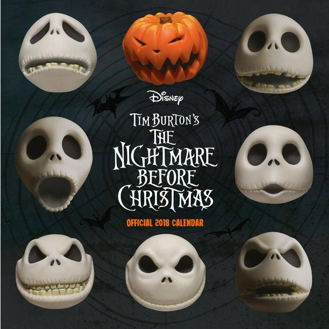 Nightmare before Christmas Calendar 2018 English Version