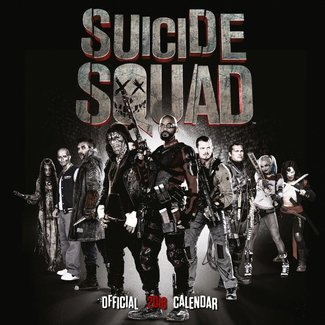 Suicide Squad Calendar 2018 English Version