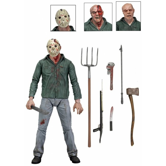NECA  Freitag der 13. Teil 3 Actionfigur Ultimate Jason