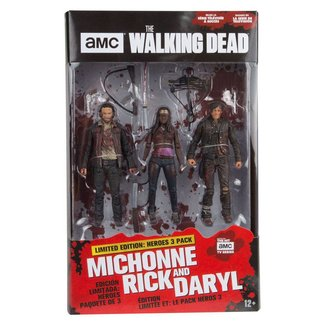 McFarlane The Walking Dead TV Version Action Figure 3-pack Heroes