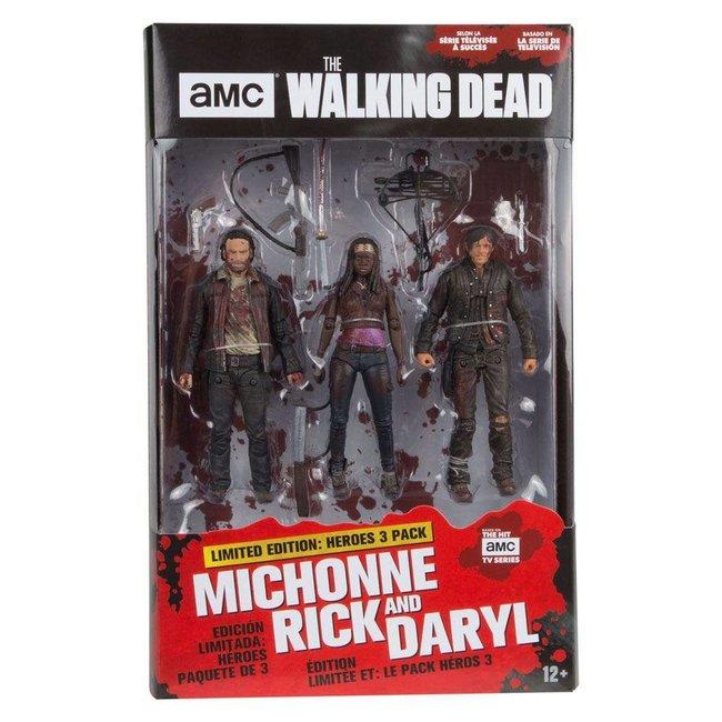 McFarlane The Walking Dead TV Version Action Figure 3-pack Heroes