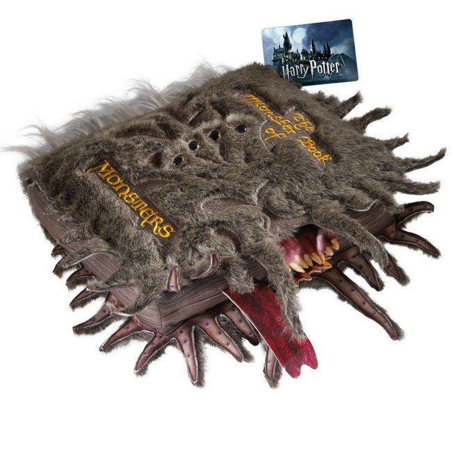 Noble Collection Harry Potter Collectors Plush The Monster Book of Monsters