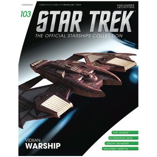 Eaglemoss Collections Official Starships Collection #103