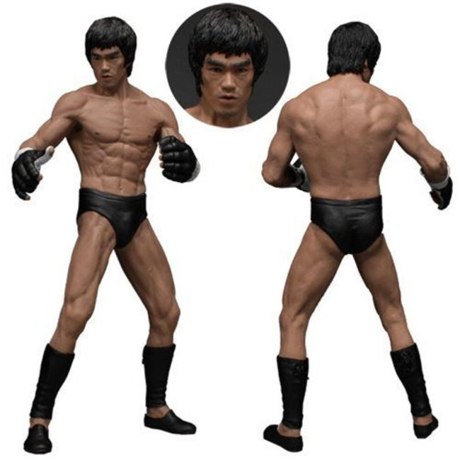 Bruce Lee The Martial Artist Series No. 2 Statue 1/12 Bruce Lee (Iconic MMA Outfit)