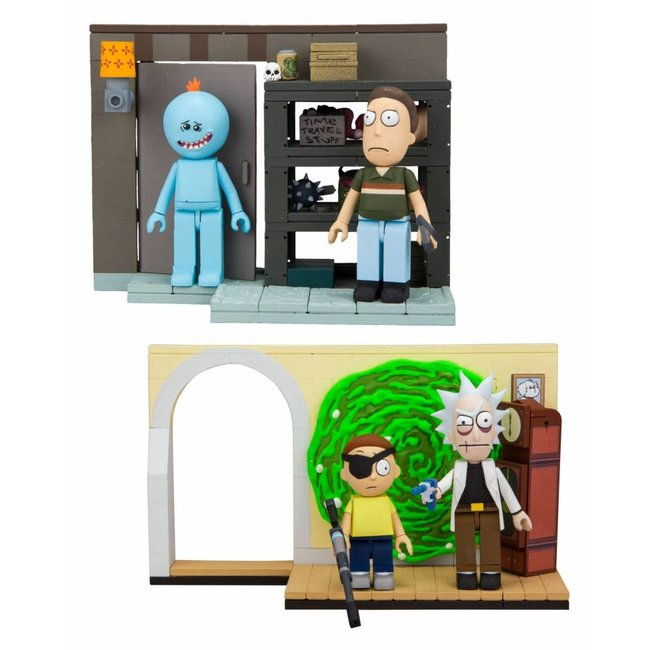 Rick and Morty Small Construction Set Wave 1 (2)