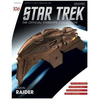 Eaglemoss Collections Official Starships Collection #106
