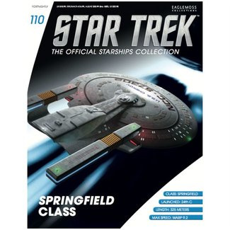 Eaglemoss Collections Official Starships Collection #110