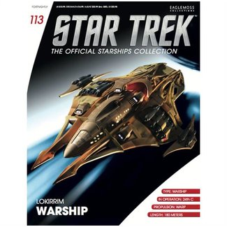 Eaglemoss Collections Official Starships Collection #113
