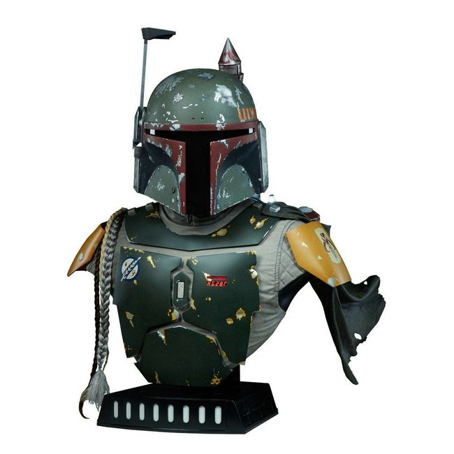 Sideshow Collectibles Star Wars Life-Size Bust Boba Fett 77 cm