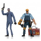 Team Fortress Action Figures 18 cm Serie 3.5 BLU Set (2)