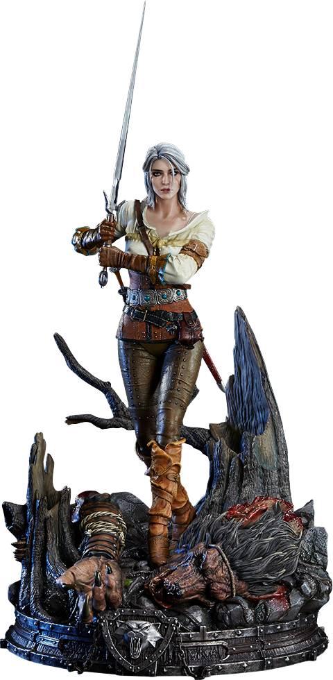 Wild Hunt The Witcher 3 Ciri Statue