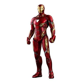 Hot Toys Avengers Infinity War Diecast MMS AF 1/6 Iron Man 32 cm