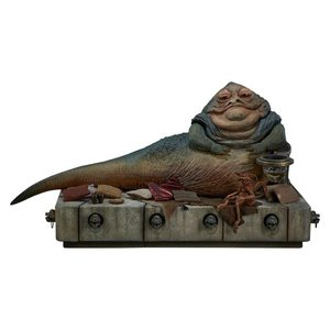 Star Wars Episode VI Action Figure 1/6 Jabba the Hutt & Throne Deluxe 34 cm