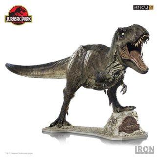 Iron Studios Jurassic Park Art Scale Statue 1/10 T-Rex 85 cm
