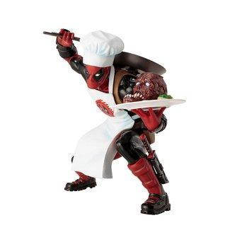 Kotobukiya  Marvel Comics ARTFX+ PVC Statue 1/10 Cooking Deadpool