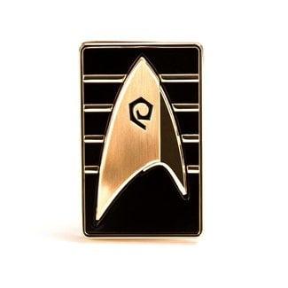 Quantum Mechanix Star Trek Discovery Replica 1/1 Magnetic Cadet Badge