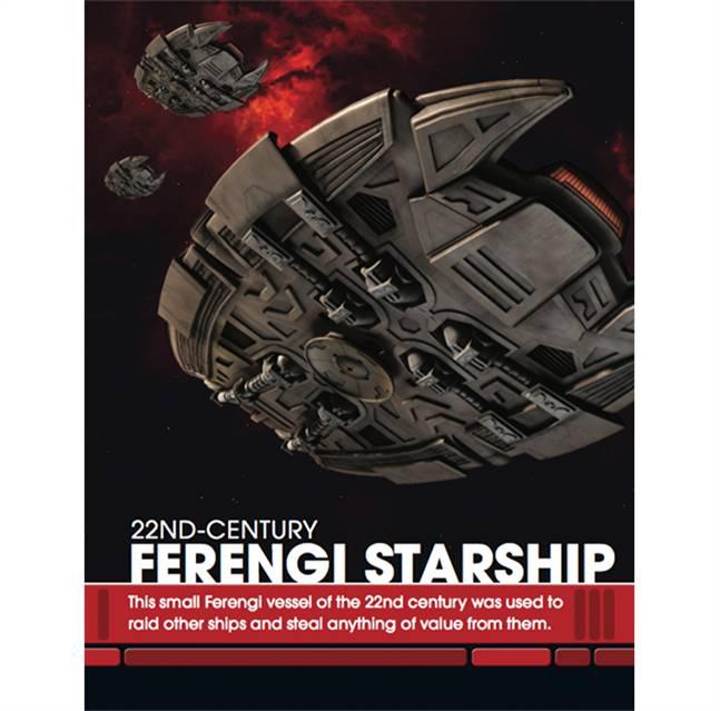 22nd Century Ferengi Starship Star Trek Starships Vehicle /& Collectors Magazine #117