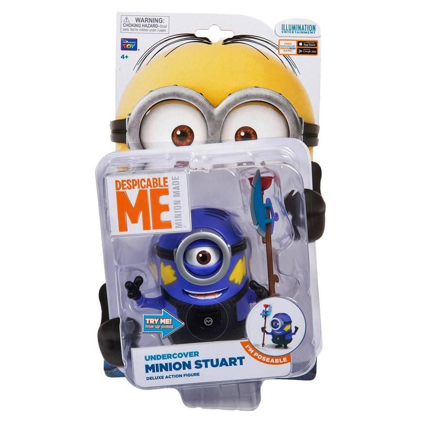 Despicable Me 2 Stuart Undercover Minion Action Figure The Movie Store
