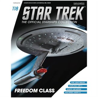 Eaglemoss Collections Star Trek Official Starships Collection #118