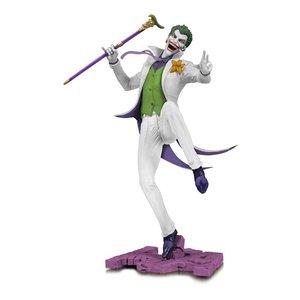 DC Core PVC Statue The Joker White Variant EU Exclusive 28 cm