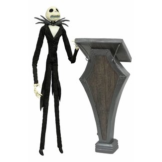 Diamond Select Toys Nightmare before Christmas Deluxe Coffin Doll Podium Jack 36 cm