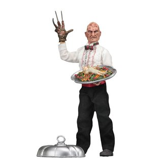 NECA  A Nightmare on Elm Street 5 Retro Action Figure Chef Freddy 20 cm