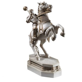 Noble Collection Harry Potter Bookend Wizard's Chess White Knight 20 cm