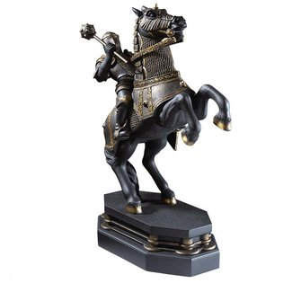 Noble Collection Harry Potter Bookend Wizard's Chess Black Knight 20 cm