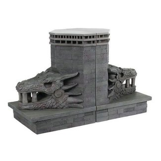 Dark Horse Comics Game of Thrones Bookends Dragonstone Gate Dragon 20 cm